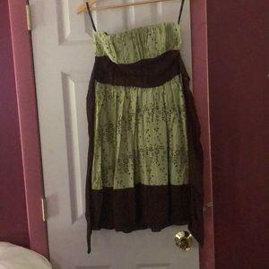 XOXO strapless summer dress size 7